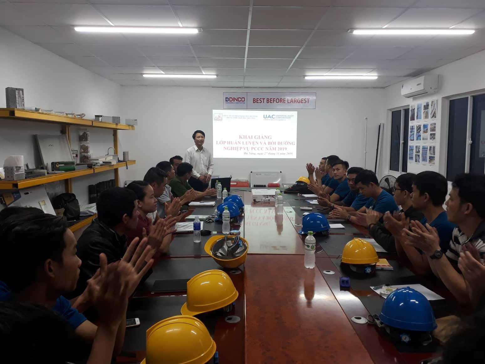 Huấn luyện nghiệp vụ PCCC (lý thuyết)